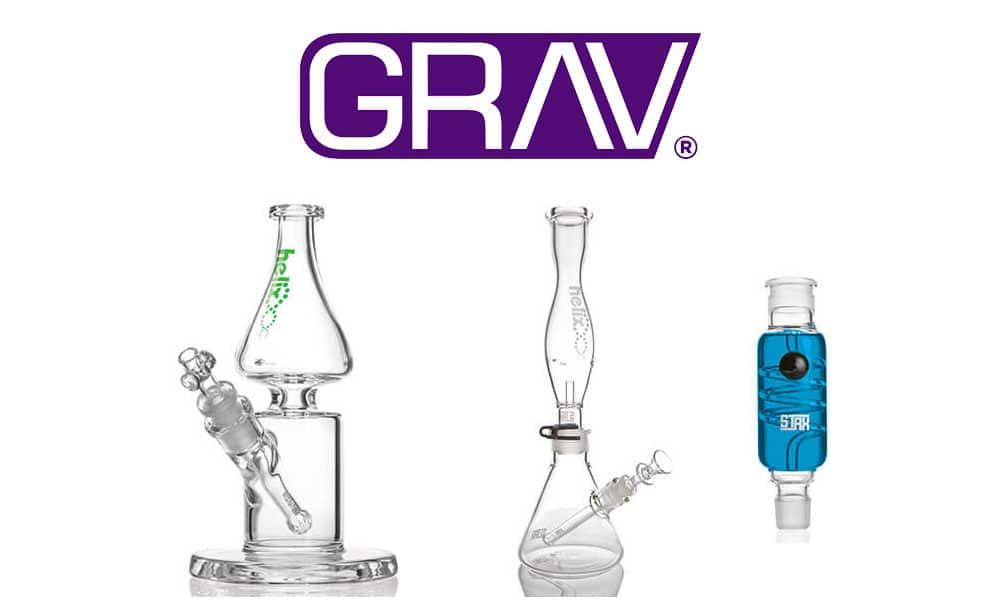 Grav Labs Bongs and Rigs