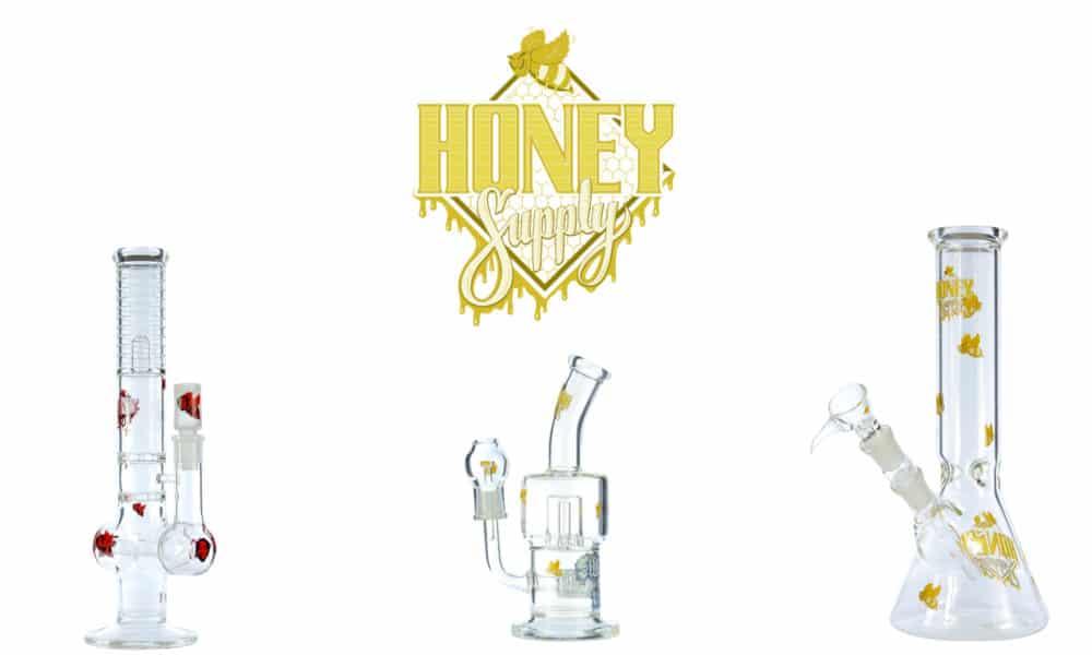 Honey Supply Glass Bongs