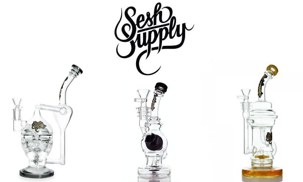 Sesh supply glass bongs