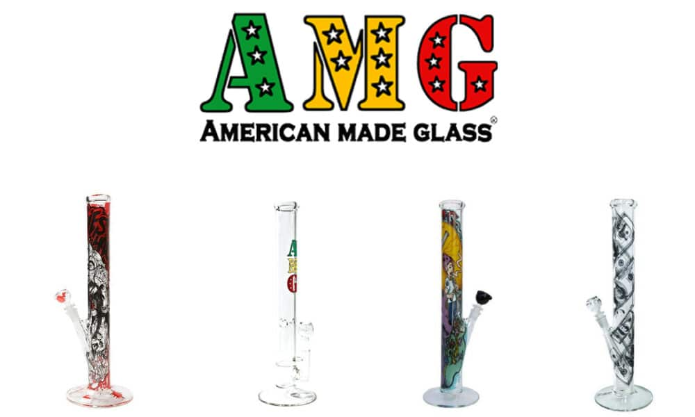 AMG Glass Bong American