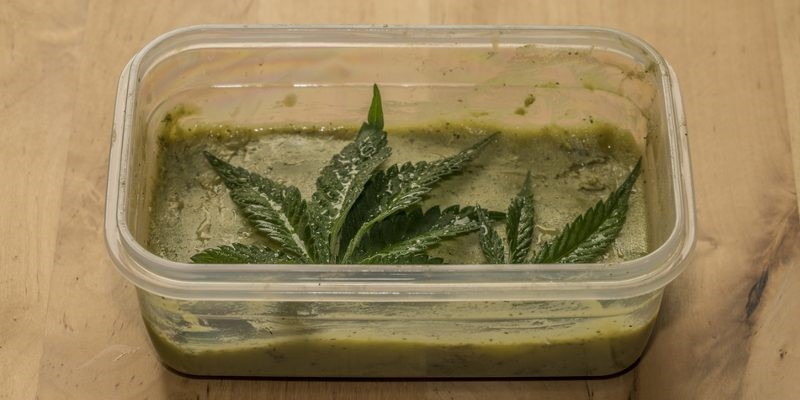 Cannabutter for marijuana cookies