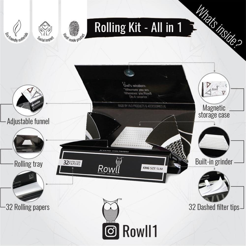 Rowll premium Rolling papers tool