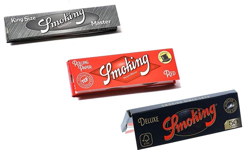 Smoking Silver, Smoking Red, Smoking Black