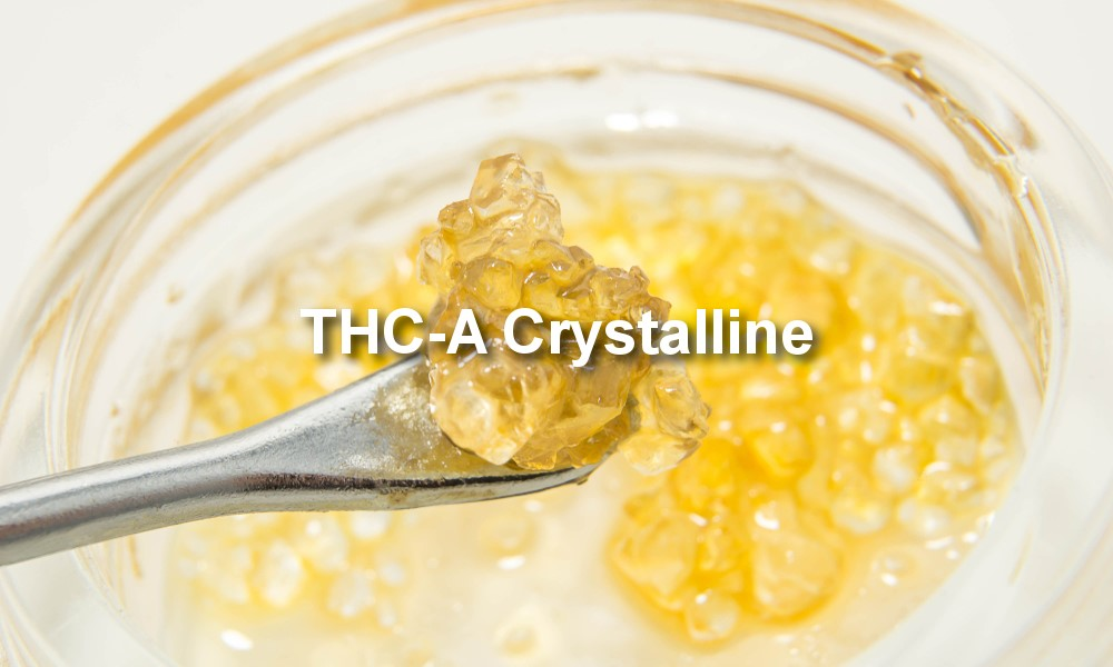 THC-A Crystalline pure THC
