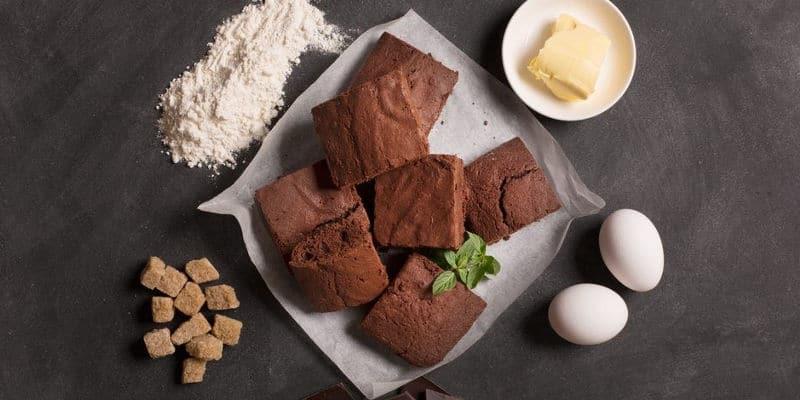 Cannabis Pot Brownie Baked