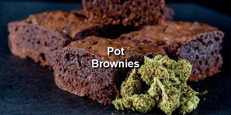 Cannabis Pot Brownies